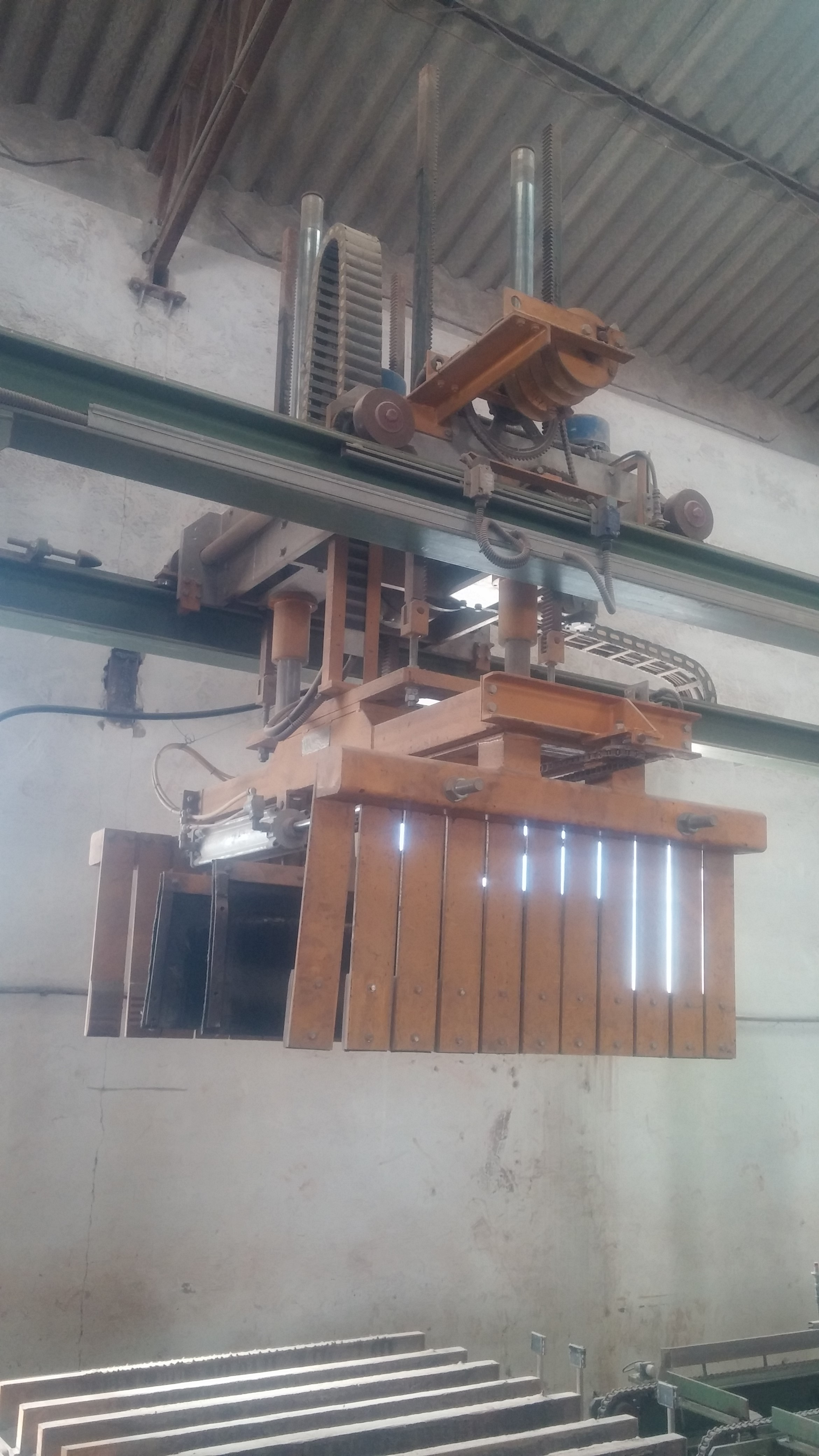 Vortex rotary 13 concrete roof tile second hand production plant palletising gripper dailygadgetfo Image collections